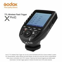 Godox Large LCD XPro-C 2.4G E-TTL Wireless Flash Trigger For Canon EOS Cameras