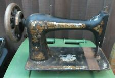 Singer Sewing Machine Treadle Style No Table Sphinx Model Antique - LOT H1