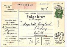 VV31 1943 Norway Porsgrunn {samwells-covers}