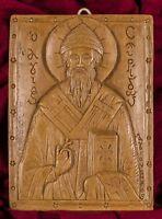 Saint Spyridon Trimythous Greek Christian Orthodox Aromatic Icon Mount Athos