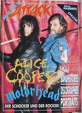 Metal Attack (7/91) -  Alice Cooper - Motorhead,