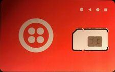 212 NYC AREA CODE Prepaid renewable Sim Card, T.Mobile based Network