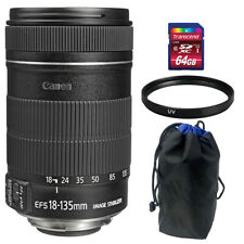 CANON EF-S 18-135mm f3.5-5.6 IS STM Zoom Lens Accessory Kit for CANON EOS 7D 60D