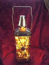 NEW Bling Electric LAMP ~ MUSICAL LANTERN DECANTER Transformed Warm White LEDs
