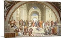 ARTCANVAS School of Athens 1510 Canvas Art Print by Raphael