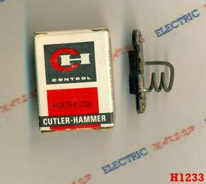 NEW Cutler Hammer HEATER COIL H1233 1233A 10177H 1233 H1233A