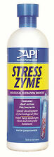 API Stress Zyme 237ml Aquarium Live Filter Bacteria Boost  Start Cycle Colony
