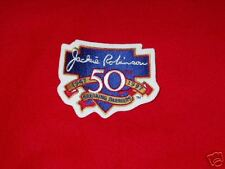 Jackie Robinson 50Th Anniversary Patch