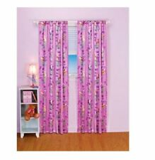 Disney Fairies Tinkerbell Fairy Stripe Pole Top Window Panel Curtain Drape NEW