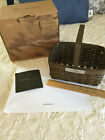 Longaberger Collectors Club Member Basket 2007 Deep Brown NEW in Box SIGNED!