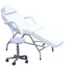 Manual Massage Bed Chair + Stool Beauty Spa Tattoo Salon Equipment Adjustable
