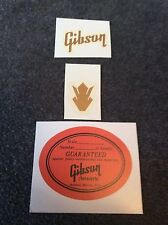 Guitar Headstock Decals and sound hole label