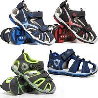 Boys Summer Sandals Kids Infants Walking Sports Hiking Trail Beach Shoes Size