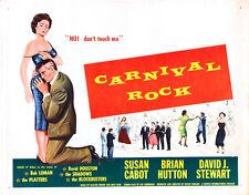 "Carnival Rock, Movie Poster Replica 11x14"" Photo Print"