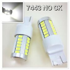 Rear Turn Signal Light LED Bulb 6000K White CK T20 7443 7444 For Toyota Hon Sub