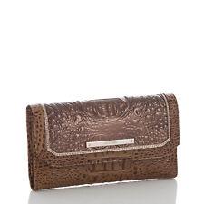 NWT Brahmin Soft Checkbook Wallet Patina Masolino Leather w/GoldTone Hardware