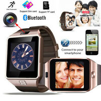 Bluetooth Smart Watch DZ09 GSM SIM 2.0M Camera Smartwatch For Android IOS Phone