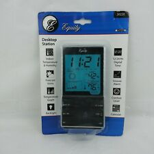 Equity Desktop Weather Station Temperature Alarm Forecast Humidity Calender