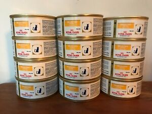 12 Cans Royal Canin Selected Protein PD Veterinary Cat Food 5.9 oz. Duck