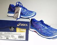 ASICS Women's Gel Nimbus 19 Blue Purple/Violet Running Shoes US Size 6 Jogging