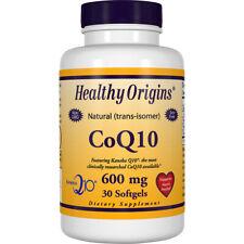 Healthy Origins Coenzyme Q10 (CoQ10) 600 mg 30 Softgels