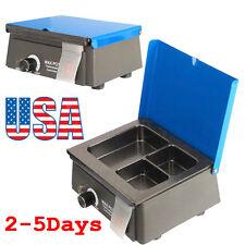 Portable Digital Dental 3Well Analog Wax Melting Dipping Pot Heater Melter Waxer