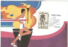 USA Olympische Spiele Olympic Games 1984 Oly. postcard with cancel Rowing