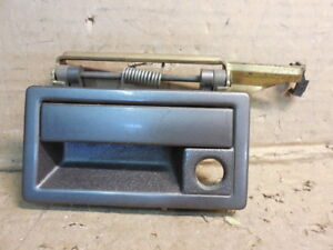 1990 - 1995 Plymouth Acclaim Front Left Driver Exterior Door Handle Gray