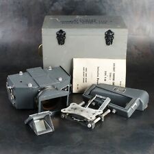 :US Navy WWII Aircraft Torpedo 120 Film Type 1 Camera w/ Case & Attachments