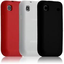 Housse etui coque en silicone semi-translucide pour Samsung Galaxy S i9000 coule