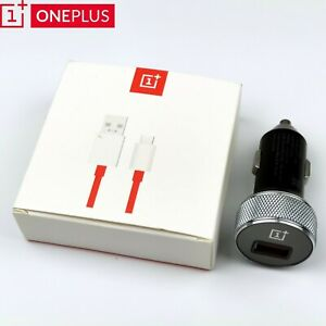 Original OnePlus Warp Charge 30 Car Fast charger For OnePlus 6 6T 5 7 7T 8 8Pro