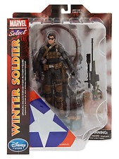 MARVEL DIAMOND SELECT DISNEY STORE EXCLUSIVE FIGURE WINTER SOLDIER
