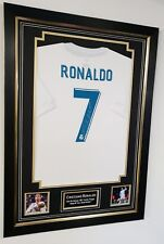 ** Cristiano Ronaldo of Real Madrid Signed Shirt Autograph Display  ***