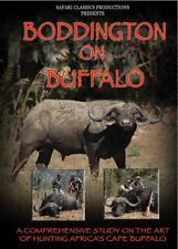 Boddington on Buffalo African Hunting Dvd with Craig Boddington
