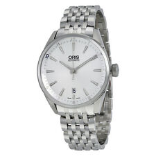 Oris Artix Automatic Silver Dial Stainless Steel Mens Watch 733-7713-4031MB