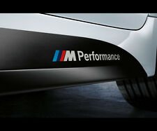 M Power Performance BMW Motorsport 320i M3 M5 X5 Vinyl die-cut Decal Sticker