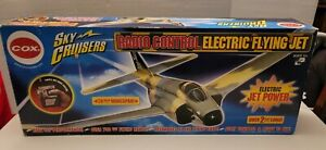 COX Sky Cruisers Radio Control ELECTRIC FLYING JET - Vintage RC Open Box NEW