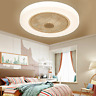 Ceiling Fan With Light Remote Control LED Ceiling Lamp Dimmable Bedroom 23''