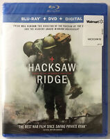 Hacksaw Ridge (New Blu ray/DVD/Expired Digital) Andrew Garfield, Sam Worthington