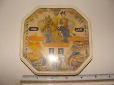 1953 Queen Elizabeth II Coronation Perpetual Daily Calendar Octagon Shape