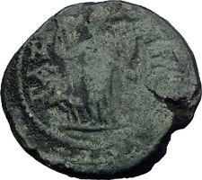 ELAGABALUS 219AD Gaza Judaea VERY RARE Authentic Ancient Roman Coin i64120