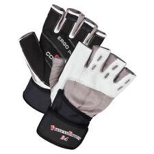 """Cuero guantes de entrenamiento con vendaje S-XXL / fitness """"ERGO"""" NUEVO"""