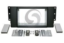 LAND ROVER LR2 2008-2012 Radio Stereo Dash Kit Standard 2DIN RUBBERIZED BLACK
