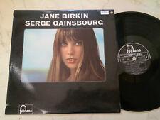 JANE BIRKIN/SERGE GAINSBOURG Same Rare Original Français Vinyle LP