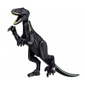 """Indominus Indoraptor Jurassic Large Dinosaur 7x11"""" Figure Blocks Fit Lego Toy"""
