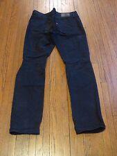 Men's Levi's 511 Black Dell Distressed Slim Fit Jeans sz 33x32