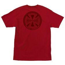 Independent Trucks F#Ck Off Skateboard Shirt Cardinal Red Xxl