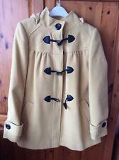 Woman's Mustard Style Duffle Coat