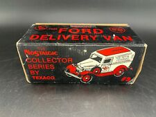 Texaco #3 1932 Ford Delivery Van Truck Bank Nostalgic Collector Series
