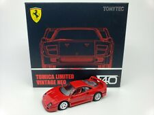 1:64 Tomytec Tomica Limited Vintage Neo Ferrari F40 Red TLV-N Opening Bonnets LE